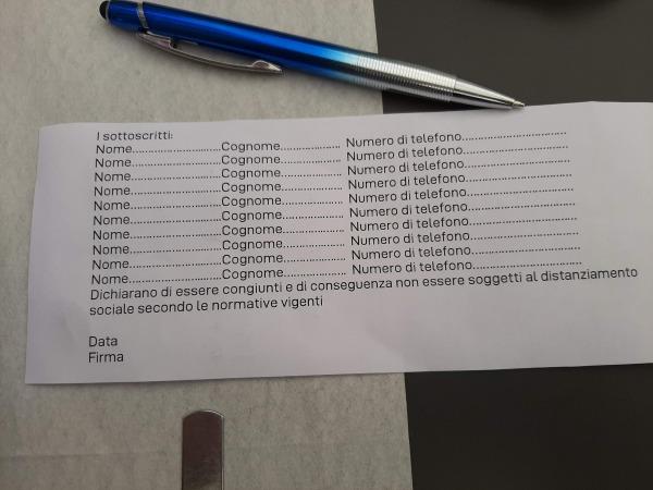 イタリアコロナウィルス対策(連絡先)